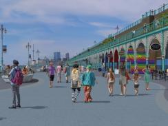 Madeira Terrace - artists impression
