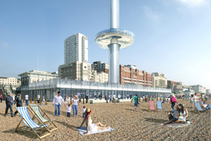 Proposed plan for how the i360 may look