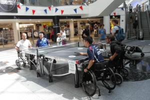 Wheelchair table tennis