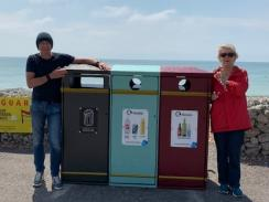New seafront bins