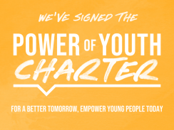 We've signed the Power of Youth Charter