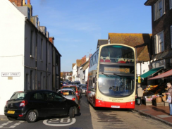 Traffic in Rottingdean