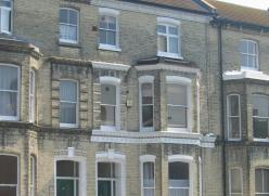 Houses in Multiple Occupation in a Hove street