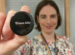 Trans Ally badge
