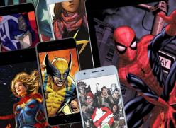 Digital comics and graphics online