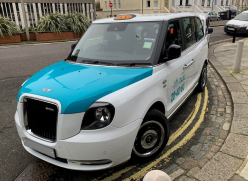 Electric taxi picture