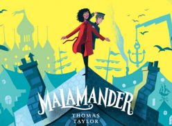 Malamander by Thomas Taylor - the Young City Reads book for 2020