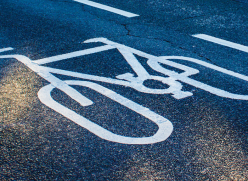 Cycle lane picture
