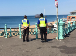 Seafront enforcement officers