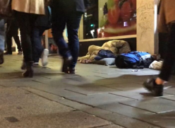 A person sleeping rough in Brighton & Hove