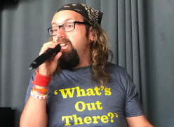 Speaker at What's Out There 2018